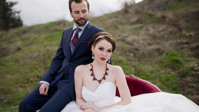 Dramatic Wedding Styled Shoot for Adore Magazine